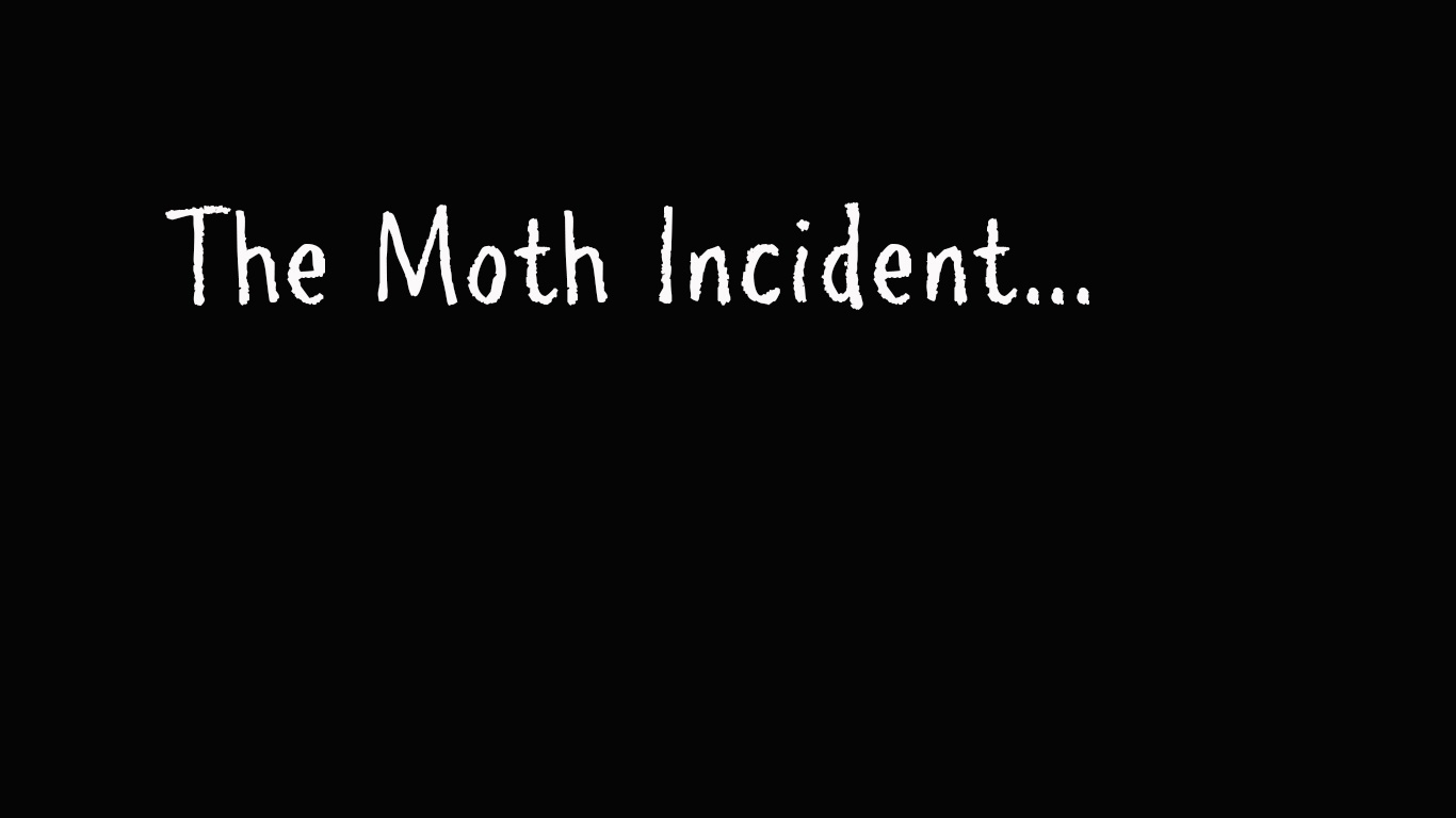 The Moth Incident….